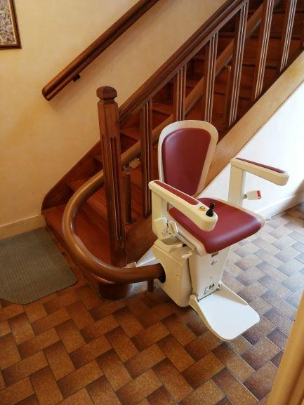 monte-escalier à Brest